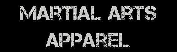 Martial Arts Apparel Header