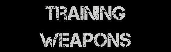 Training Weapons Header